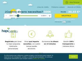Préstamos personales online - Hapicredito