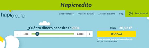 Hapicredito - Solicitar préstamos personales